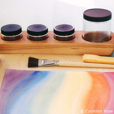 Non-toxic paints and supplies