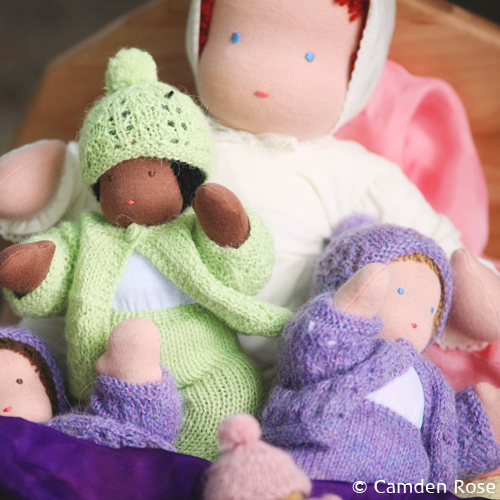 Natural dolls and playthings