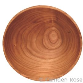 Thin Rim Wooden Bowl, Cherry