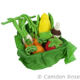 Knitted Vegetable Set