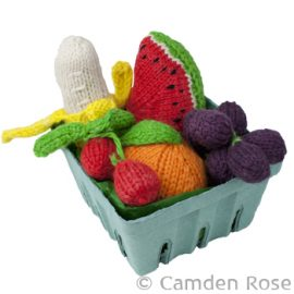 Knitted Fruit Set