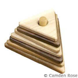 Triangle Hardwood Stacker