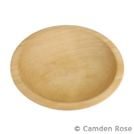 Thick Rim Wooden Bowls, Beech